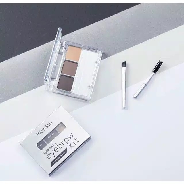 Wardah Eyexpert Eyebrow Kit 3gr