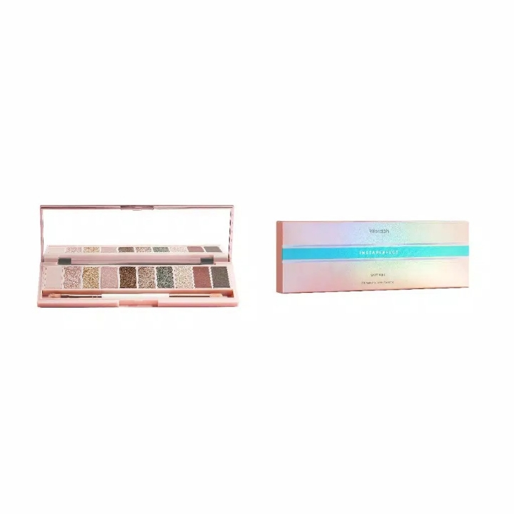 Wardah Instaperfect SPOTLIGHT Chromatic Eye Palette 10 g