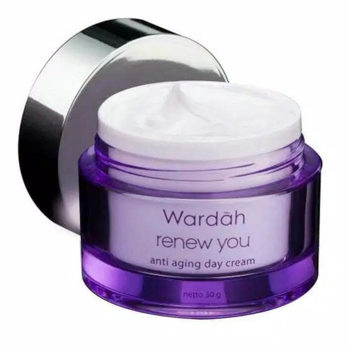 Wardah Renew You Anti Aging Day Cream 30GRAM SIANG BESAR