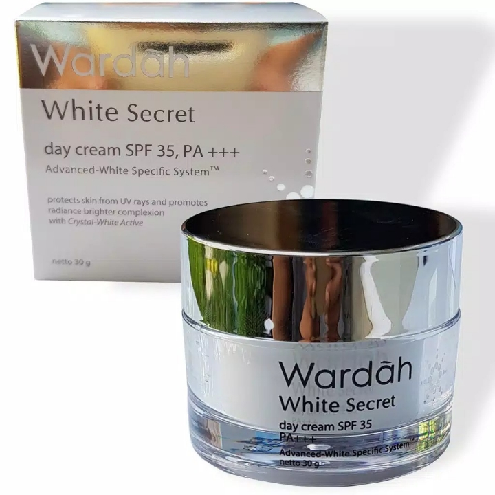 Wardah White Secret Day Cream SPF 35 PA 30 gr