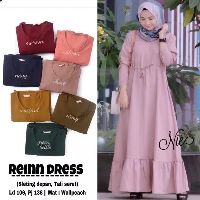 grosirskh REINN DRESS  JUMBO WOLFIS PREMIUM