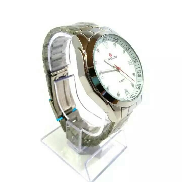 jam tangan swis time pria fasion pria